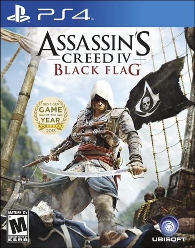 Assassin's Creed 4 Black Flag Juego Ps4 Original + Garantía