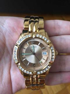 Guess Relojes Libre Y Reloj Con Mercado Joyas Swarovsky En Piedras hBsdCoQrxt