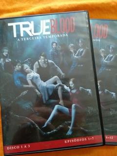 True Blood 3 Temporada Box Dvd Original