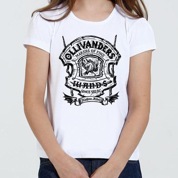 Camiseta Infantil Feminina - Olivaras Harry Potter