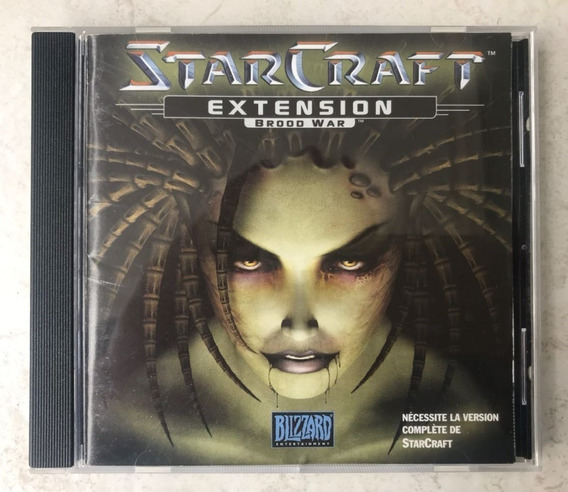 Cd Starcraft Brood War ( Francês )