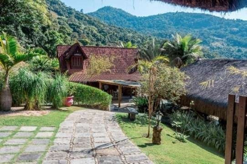 Maravilhosa Casa Pra Quem Gosta Do Verde Sitio Maravilhoso. - 24057