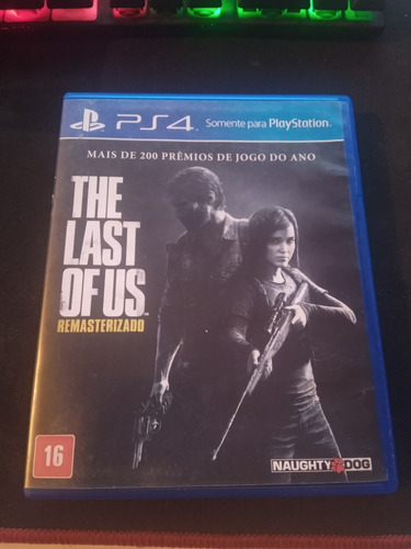 The Last Of Us Remasterizado - Ps4 Mídia Física