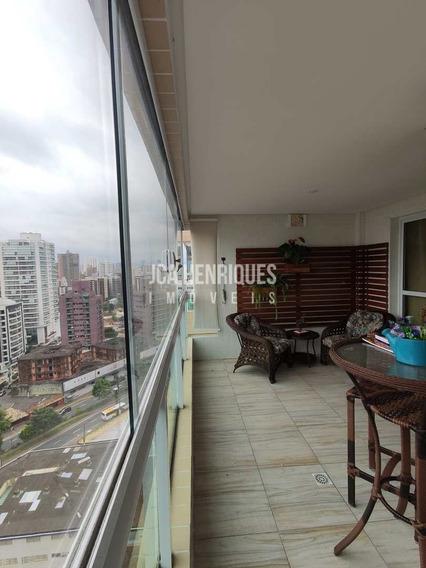 Apartamento 3 Dormitórios Com Vista De Frente Mar - V710