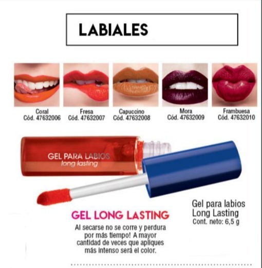 Gel Para Labios Mate Up Millanel Varios Colores