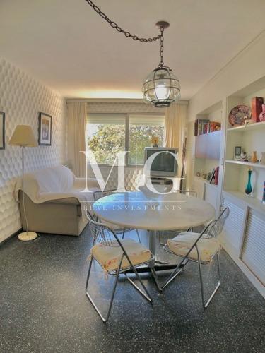 Imagen 1 de 9 de Apartamento 1 Y 1/2 Dormitorio En Mansa- Ref: 34