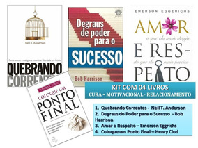 Livros Cura Interior, Família, Sucesso, Transformação