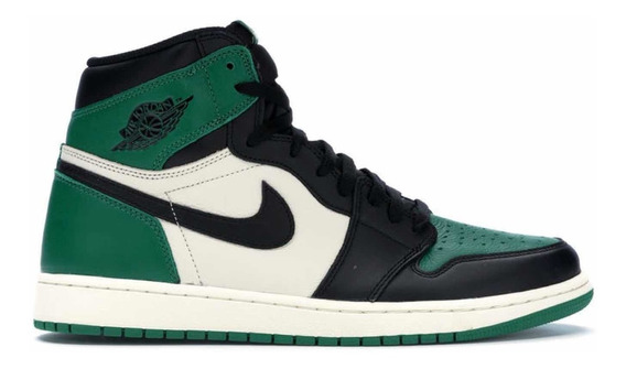 Sneakers Originales Jordan Retro 1 Og Pine Green.