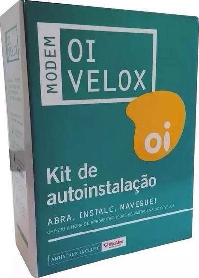 Modem Telsec Ts-9000 Com Kit Oi Velox Original Cod 009