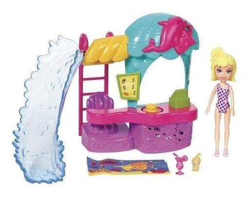 Boneca Polly Pocket Parque Aquático Dos Golfinhos - Mattel
