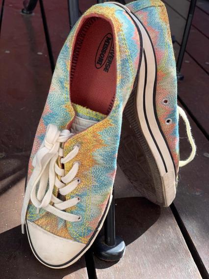 Zapatillas Converse Para Mujer. Arcoiris . Talle 39