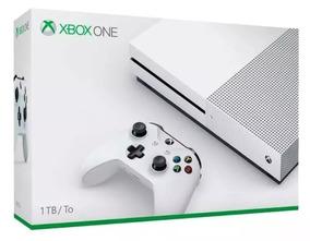 Xbox One S 1tb 4k Branco Microsoft Original - Envio Imediato