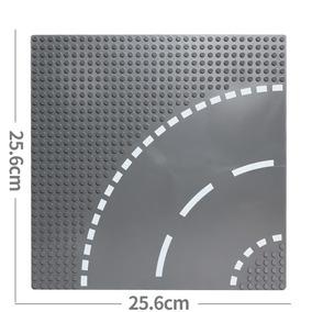 Placa Base Estrada Curva Compatível Com Lego