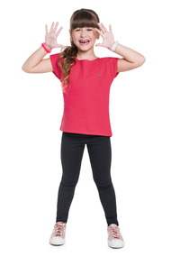 Roupa Feminina Blusas Rosa Tulipa Boca Grande