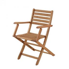 Cadeira Dobrável Nissi Com Braços Casa E Jardim Ge