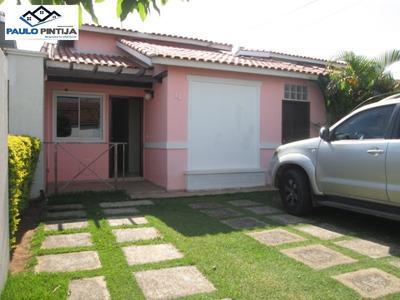 Casa Terrea De 3 Quartos No Condominio Veneza - Ca04112 - 34006200