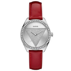 Relógio Feminino Guess - W0884l1 - Tri Glitz Analógico