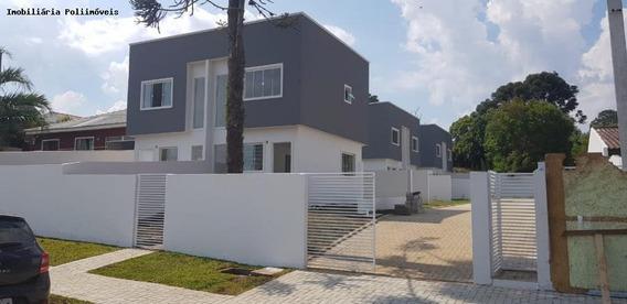 Sobrado Para Venda Em Araucária, Thomaz Coelho, 2 Dormitórios, 1 Banheiro, 2 Vagas - So0018_2-794859