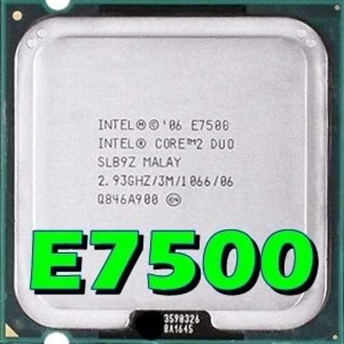 Processador Intel Core 2 Duo 2.93ghz 775 E7500