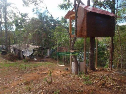 Imagem 1 de 6 de Chácara Com 2 Dormitórios À Venda, 4000 M² Por R$ 300.000,00 - Fazenda Santa Barbara - Santa Branca/sp - Ch0660