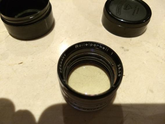 Lente Roleiparkell 1 Para Fotografar Macro Na Sua Rolleiflex
