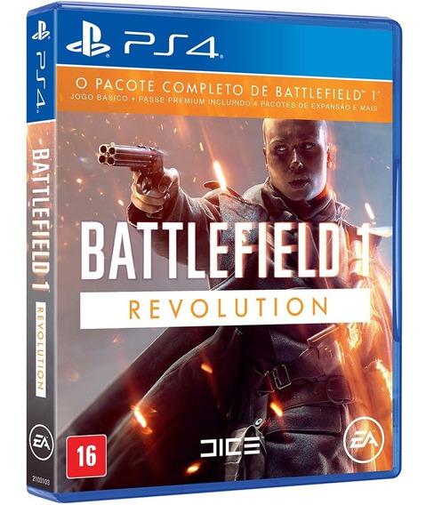 Jogo Battlefield 1 Revolution Ps4 Mídia Física