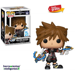 Sora Dual Blaster Funko Pop Kingdom Hearts Insinder Club Exc
