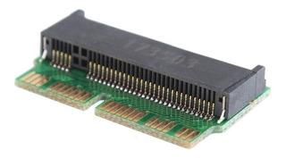 Super Pack De 3 Adaptador Msata Ssd A Pcie Nvme M.2 Pc & Mac