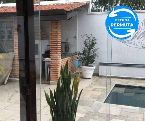 Imagem 1 de 14 de Casa Com 4 Dormitórios À Venda, 390 M² Por R$ 1.720.000,00 - Alphaville - Santana De Parnaíba/sp - Ca0679
