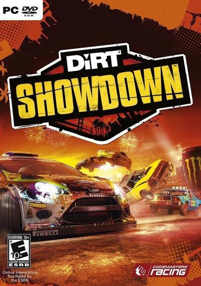 Jogo Pc Dirt Showdown Original Mídia Física