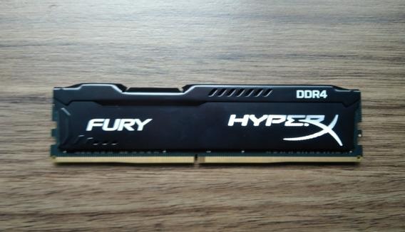 Memória Ram 8gb 2133mhz Ddr4 Hyperx Fury