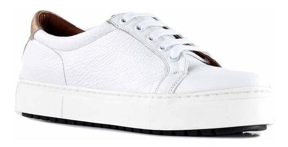 Zapatillas Mujer Cuero Urbanas Briganti Zapatilla Mczp05260