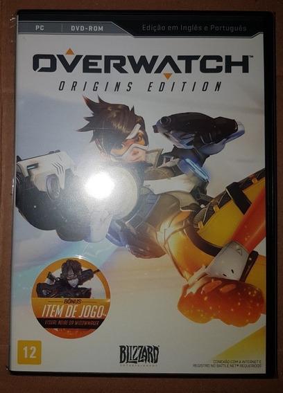 Overwatch Pc - Mídia Física (sem Serial)
