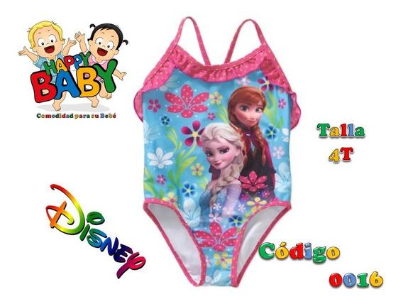 Traje De Baño Para Niña Marca Disney Frozen Talla 4t