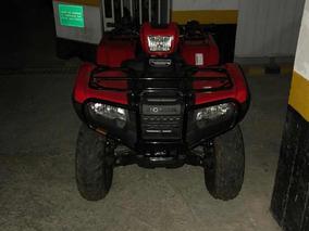 Cuatrimoto Marca Honda, Color Rojo, Modelo 218
