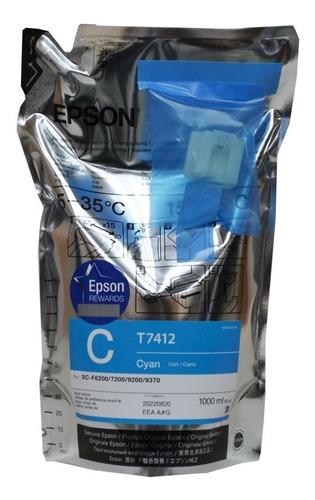 Imagen 1 de 1 de Tinta Epson Ultrachrome Ds Cyan T7412