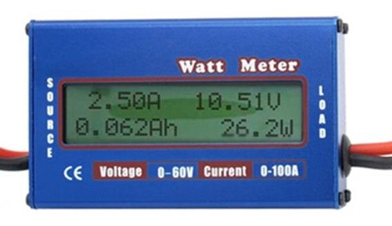 Wattimetro, Voltimetro E Amperimetro Dc 0-60v, 0-100a