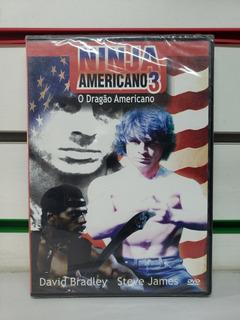 Dvd Filme Ninja Americano 3 - O Dragão Americano Original