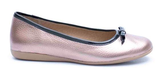 Zapatos Chatitas Balerinas Sucre Con Moño De Mujer