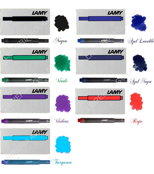 Cartuchos Lamy T10 Plumas Lamy Safari Al Star Joy Nexx Etc