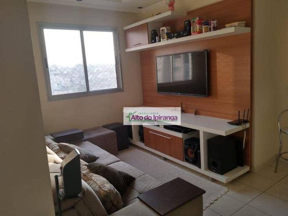 Apartamento Com 2 Dormitórios À Venda, 49 M² - Sacomã - São Paulo/sp - Ap4505