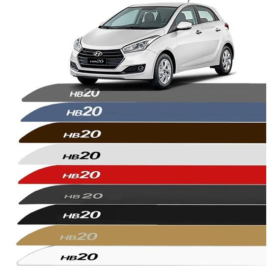 Friso Lateral Hyundai Hb20 2012 A 2019 Cor=carro