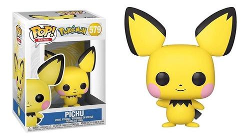 Boneco Funko Pop Games Pokémon Pichu - #579