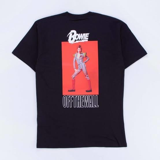 Vans X David Bowie Playera Negra
