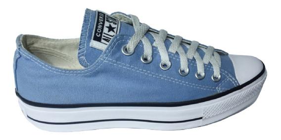 Converse Allstar Chuck Taylor Plataforma Azul - Gal. Do Rock