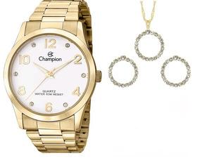 Relógio Champion Analógico Feminino Cn29052w Original C/ N
