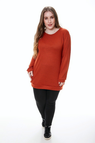 Remeron Vestido Tipo Sweter De Lanilla Talle Grande Xxl-xxxl