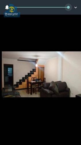 Sobrado Com 4 Dormitórios À Venda, 204 M² Por R$ 645.000,10 - Casa Branca - Santo André/sp - So2124