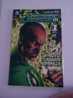 Hq - Lanterna Verde - Os Novos 52 - Diversos Titulos