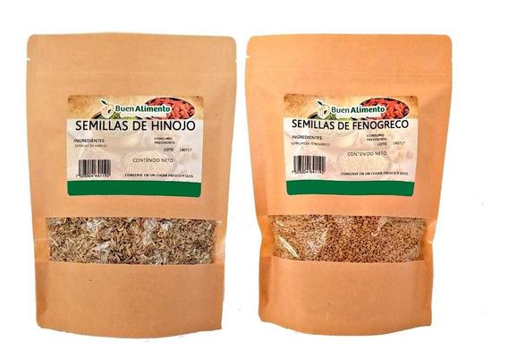 Semillas De Hinojo Y Fenogreco 500 Gramos C/u Premium